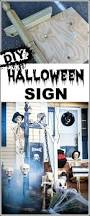 scary halloween sign best 25 halloween signs ideas on pinterest halloween pallet