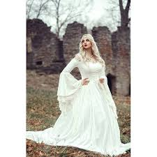 renaissance wedding dresses vintage renaissance white wedding dress celtic bell