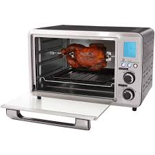 Hamilton Beach 6 Slice Convection Toaster Oven Kitchen Modern Walmart Toaster Oven For Charming Kitchen