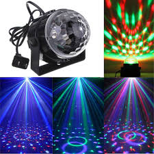 Party Lighting Amazon Com Dj Light Sound Activated Party Lights Disco Ball