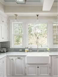 kitchen sink with backsplash window kitchen sink houzz