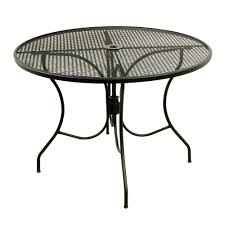 Hayneedle Telescope by Telescope Casual 48 In Round Glass Top Patio Dining Table