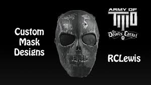 ghost mask army army of two the devil u0027s cartel custom masks 1080p hd youtube