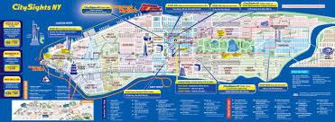 New York Zip Code Map Manhattan by New York Map Tourist New York Map
