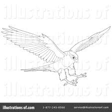 hawk clipart 1064997 illustration by alex bannykh