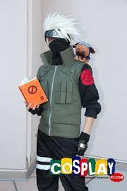 Kakashi Halloween Costume Naruto Kakashi Jounin Vest Cosplay Jacket Costume Naruto Kakashi