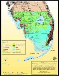 Everglades Florida Map by Nr505 Base Maps