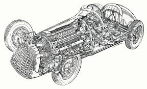ferrari drawing the first ferrari f1 simanaitis says