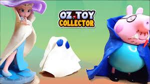 Halloween Costumes Peppa Pig Peppa Pig Play Doh Halloween Party Ft Frozen Queen Elsa Diy