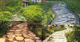 Garden Path Edging Ideas Awesome Ideas For Garden Paths Ideas Landscaping Ideas For