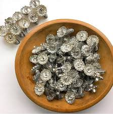 Silver Metal Christmas Decorations by Christmas Past 12 Antique Christmas Tree Candle Clips Tin Metal