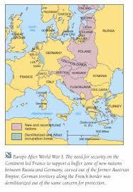 post ww1 map history 303 europe in the twentieth century