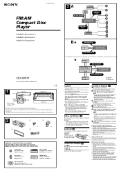 user manual for car stereo sony 52wx4 xplod 28 images archived