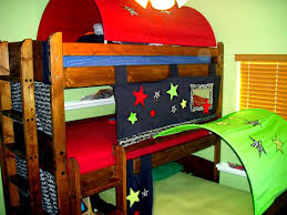 Bunk Bed With Tent Bunk Bed Tent Decoration Foster Catena Beds