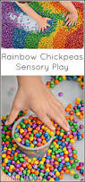 rainbow chickpeas how to dye dried chickpeas for sensory play
