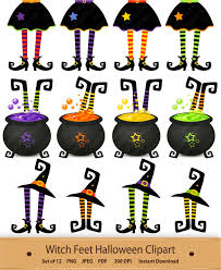 halloween clip art witch feet clipart witch u0027s boot shoe
