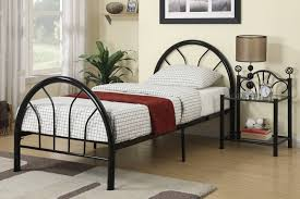 metal bed frame twin full u2014 modern storage twin bed design