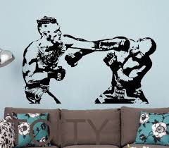 popular mma stickers decals buy cheap mma stickers decals lots conor mcgregor wall sticker mma fight boxing vinyl decal ufc giant graphic decor school dorm living