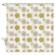 Geometric Burnout Shower Curtain Tan Threshold Geometric Burnout Shower Curtain Tan Target