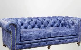 Blue Leather Chesterfield Sofa Sofa Blue Chesterfield Sofa Noteworthy Blue Leather Chesterfield
