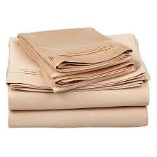 Queen Sheet Set Superior 650 Thread Count Long Staple Combed Cotton Solid Sheet