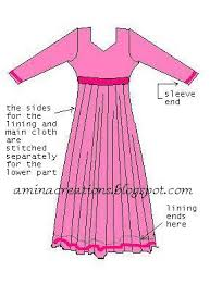 amina creations how to stitch anarkali suits sewing basics