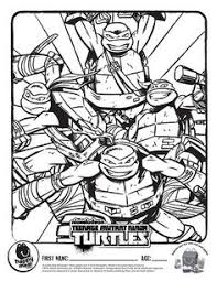 teenage mutant ninja turtles coloring pages sharpie mugs