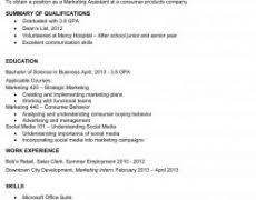college resume examples 15 template 22 job for students good