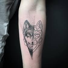 forearm wolf tattoos geometric wolf on forearm tatuagens shows pinterest tatuajes
