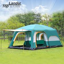 cabin tent large tent family waterproof layer 8 10 12 person cabin