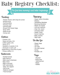 registry for baby shower baby shower registry list list corner