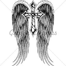 cross with wings for yahoo search results