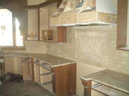 Travertine Kitchen Backsplash Subway Tile Kitchen Backsplash Cherry Cabinets Nice Idolza