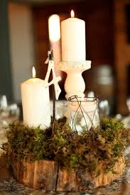 Centerpieces With Candles For Wedding Receptions by 25 Best Moss Centerpiece Wedding Ideas On Pinterest Moss