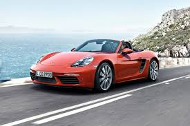porsche boxster red 2018 porsche 718 boxster pricing for sale edmunds
