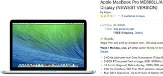 best black friday flash deals macbook pro with retina display black friday deals at best buy amazon