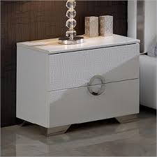 Contemporary White Nightstand The Find Furniture Consignment Bonita Springs And Naples Fl