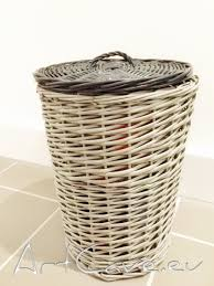spray painted wicker laundry baskets art cave