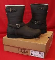 s ugg australia brown grandle boots s ugg australia grandle java brown leather biker boots brand