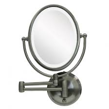 wall mounted hardwired lighted makeup mirror lighted makeup mirror wall mount hardwired home design ideas