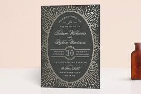 minted wedding invitations wedding sparkler foil pressed wedding invitations by chris