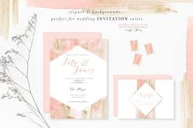 pink wedding invitations blush pink and gold watercolor textures for wedding invitations more