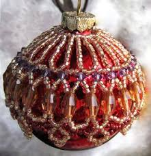 82 best ornaments images on beaded ornament