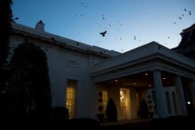 the new york times has a whirlwind envelops the white house and the revolving door spins