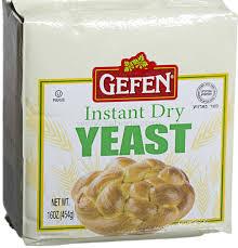 gefen kosher kosher instant yeast