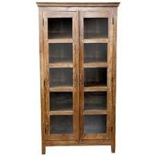 Glass Door Bookshelves by Barrister Glass Door Oak Bookcase Glass Door Bookcase Glass