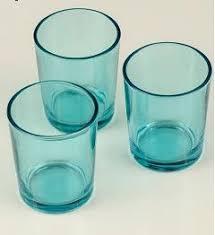 blue tea light candles blue 72 tiffany turquoise aqua holder votive candle tiffany blue