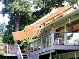 deck awnings idea permanent deck awnings ideas u2013 three