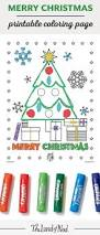 merry christmas printable coloring page free printable free and