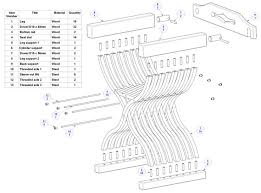 Wood Folding Chair Plans Free by